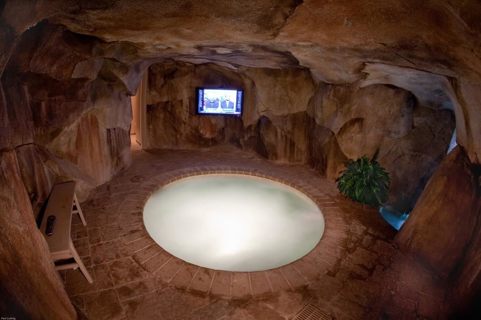 homes with their own shark tanks shehan pools 6