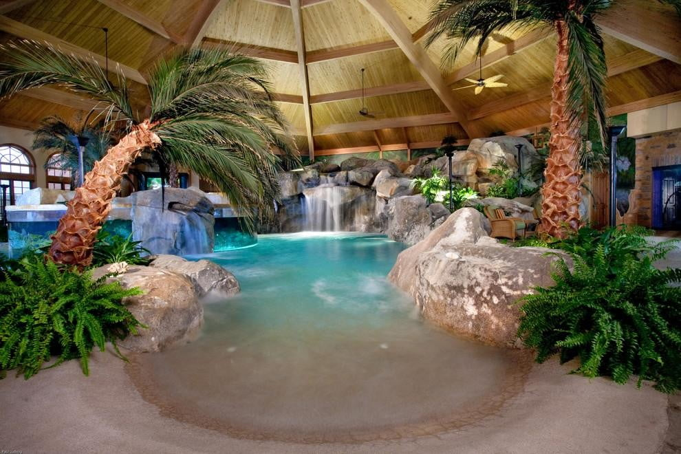 homes with their own shark tanks shehan pools 7