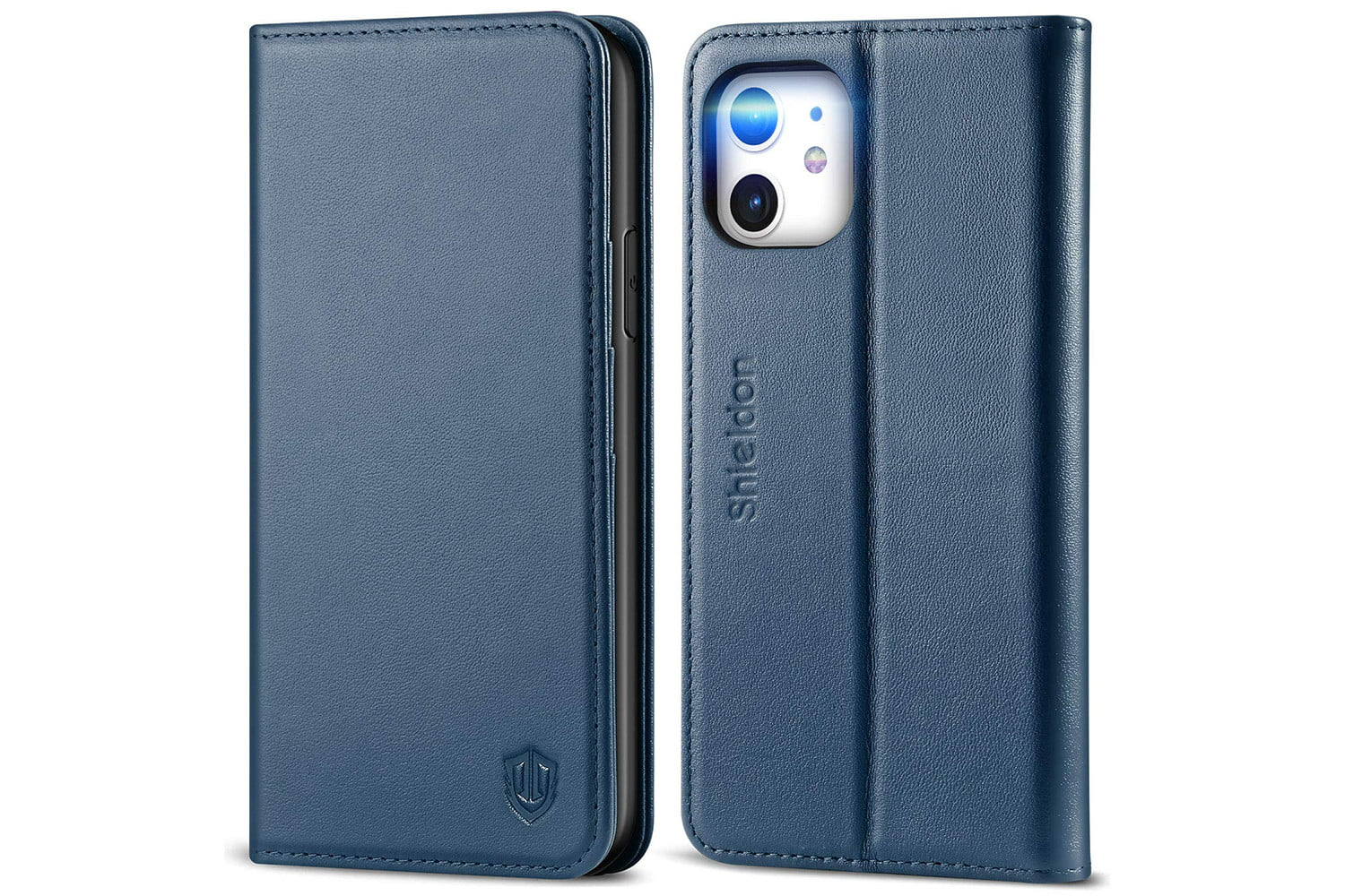Balsamine Wallet Case for iPhone 11 Leather Cover Compatible with iPhone 11