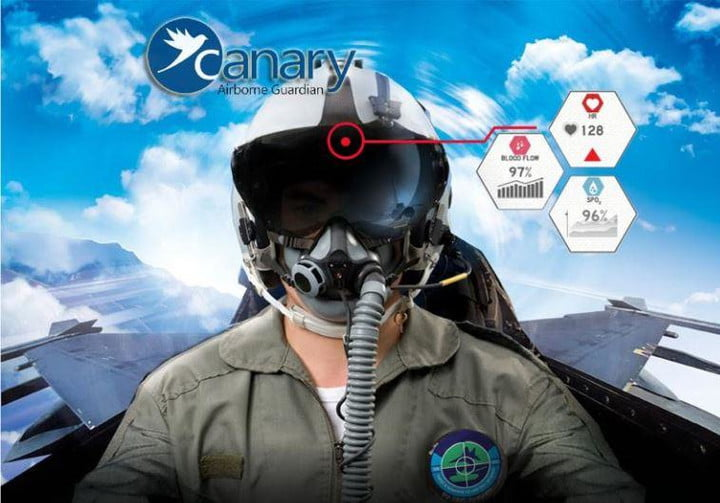 canary airborne guardian system fighter pilot monitoring showimage