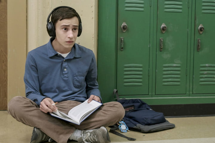 Keir Gilchrist as Sam Gardner in the Netflix series Atypical.