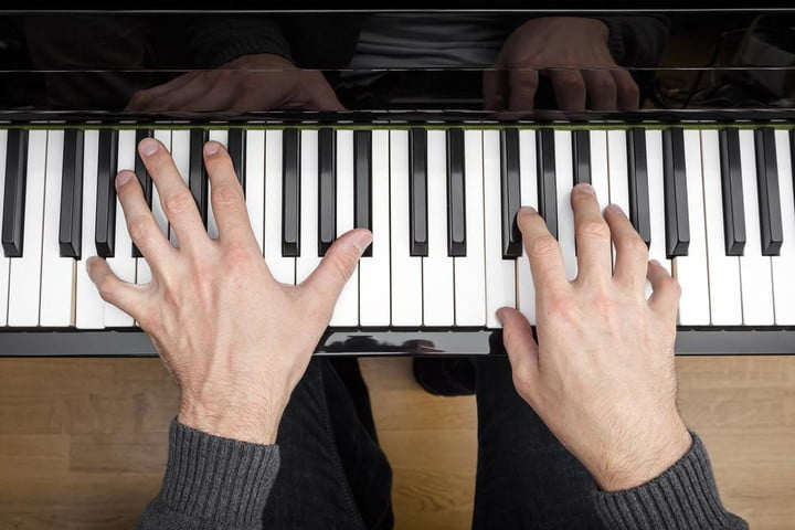 whats the most popular music key spotify person playing piano