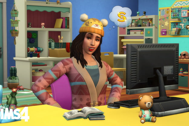 The Sims 4 Nifty Knitting Stuff Pack screenshot