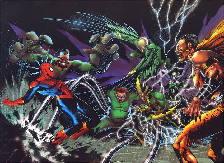 sony announces sinister six release date pushes back amazing spider man 3