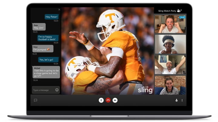Sling TV Watch Party.