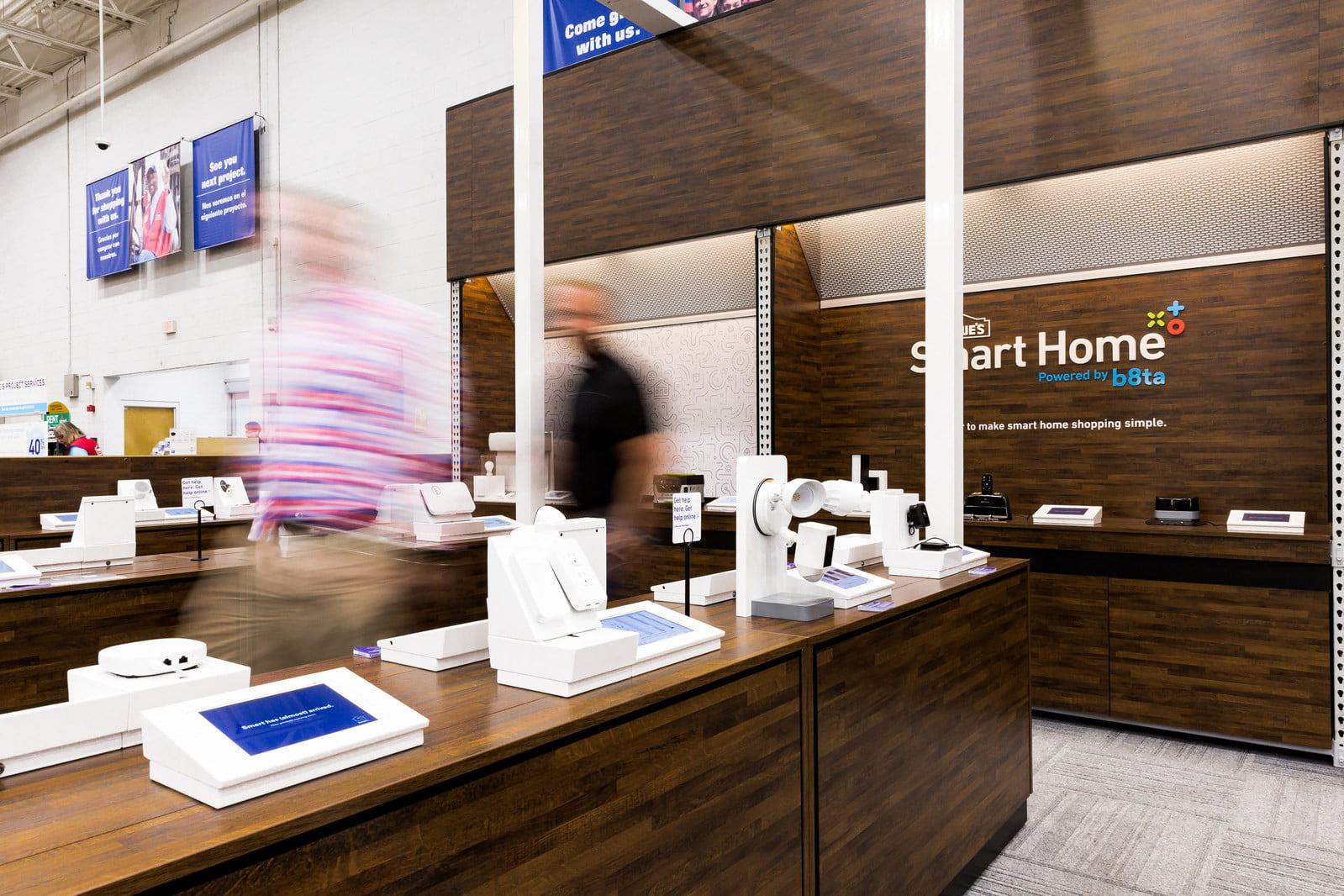 lowes smart home store b8ta powered by in aisle