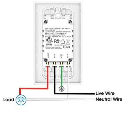 How To Install A Smart Light Switch, Double Dimmer Switch Wiring Diagram