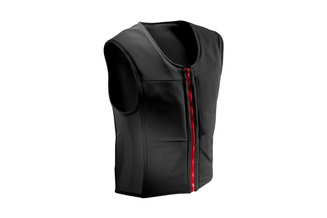 inmotion showcases smart moto airbag vest at ces 2017 1