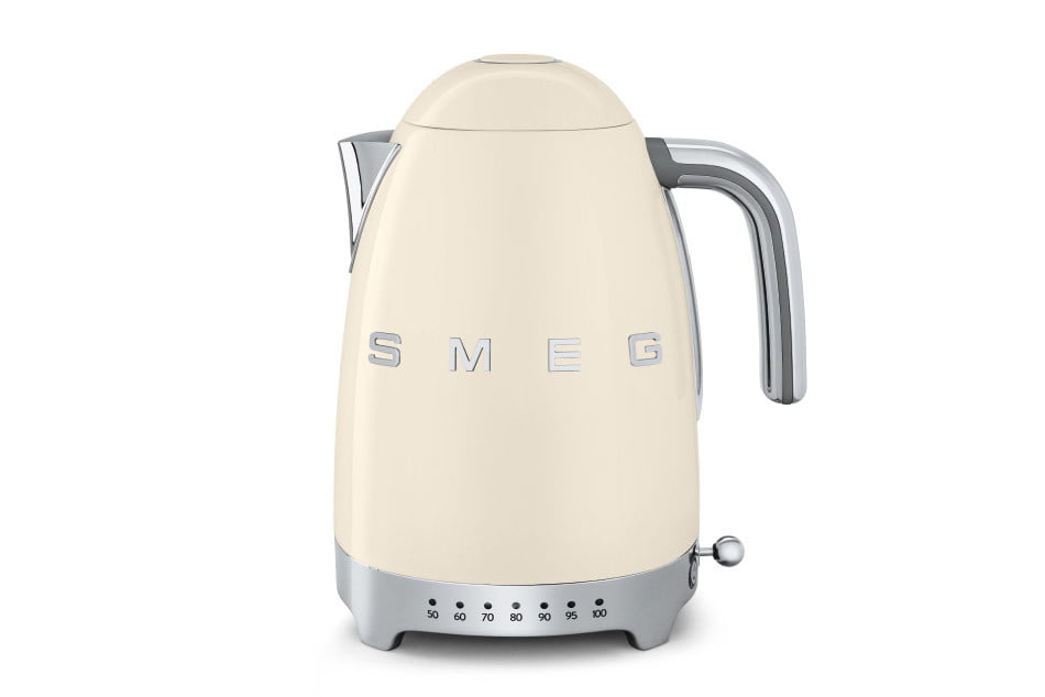 smeg introduces a retro dishwasher and bigger fridge klf01  50s style electric kettle