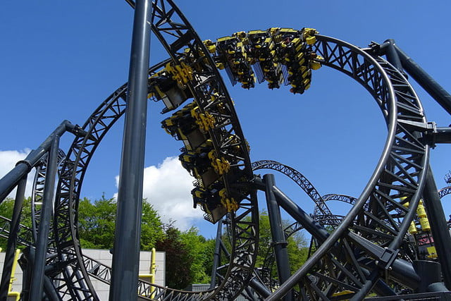biggest rollercoasters in the world smiler2