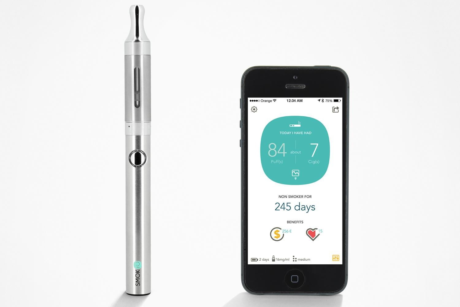Smokio-P1_ecig_mini_silver_iphone_en_home