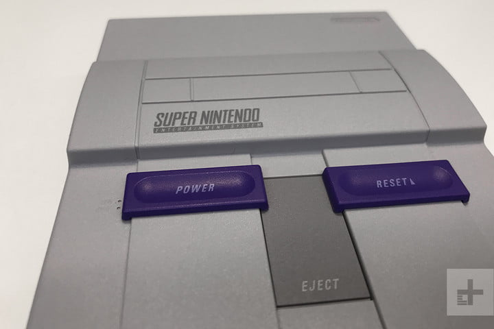 SNES Classic hands on review top detail