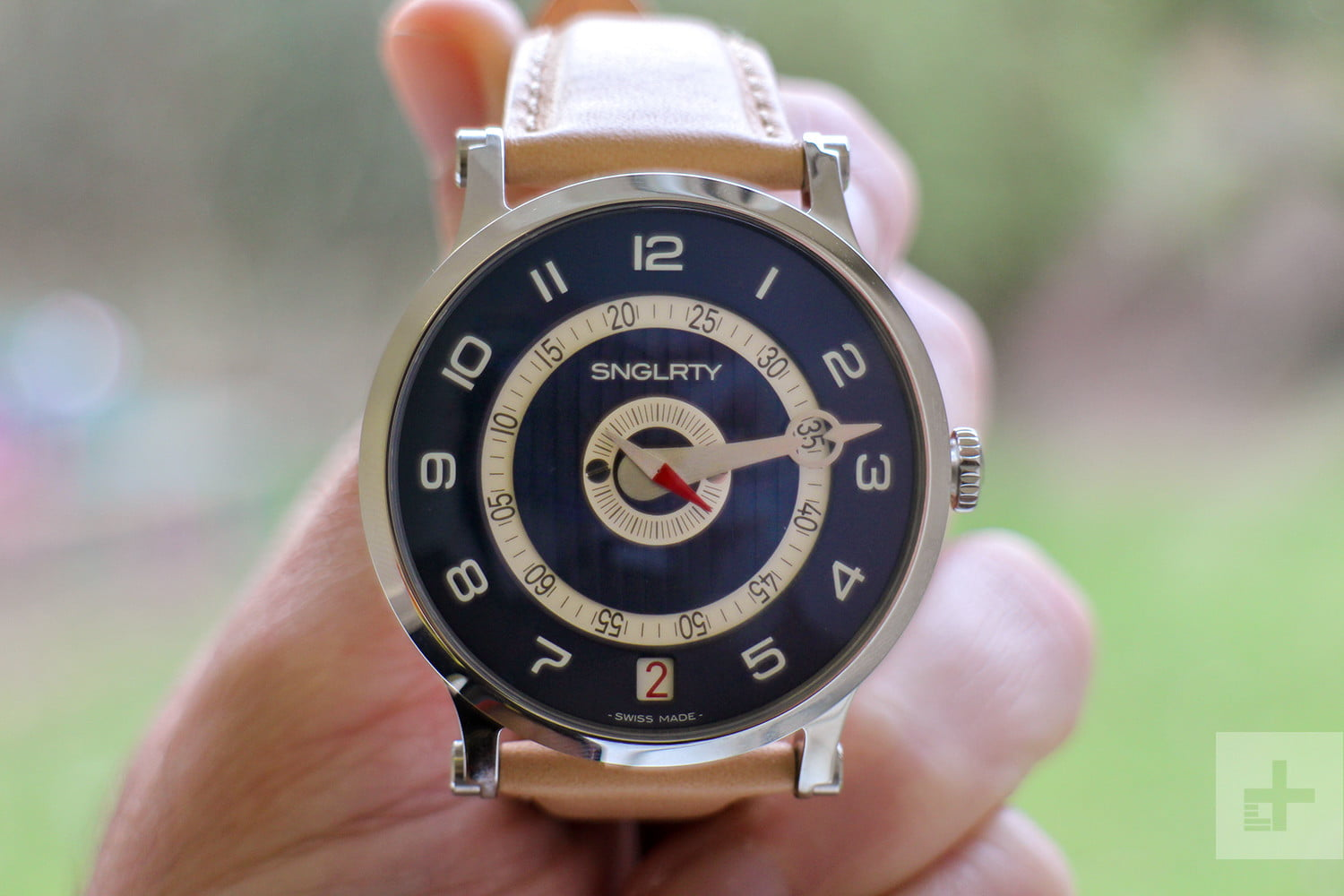 SNGLRTY watch front face