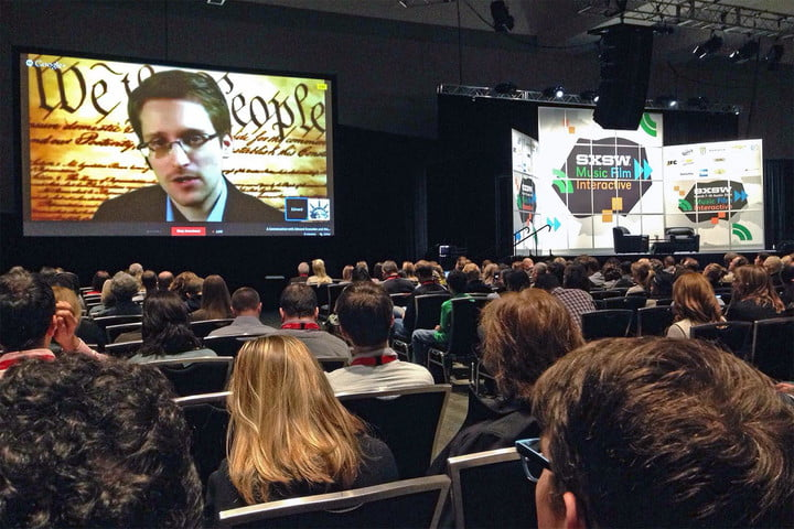 snowden live talk privacy impact president trump wants more security
