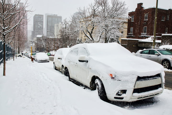 if you were stuck inside during storm jonas might have picked up some malware snowed in city icy cars blizzard winter snow sn