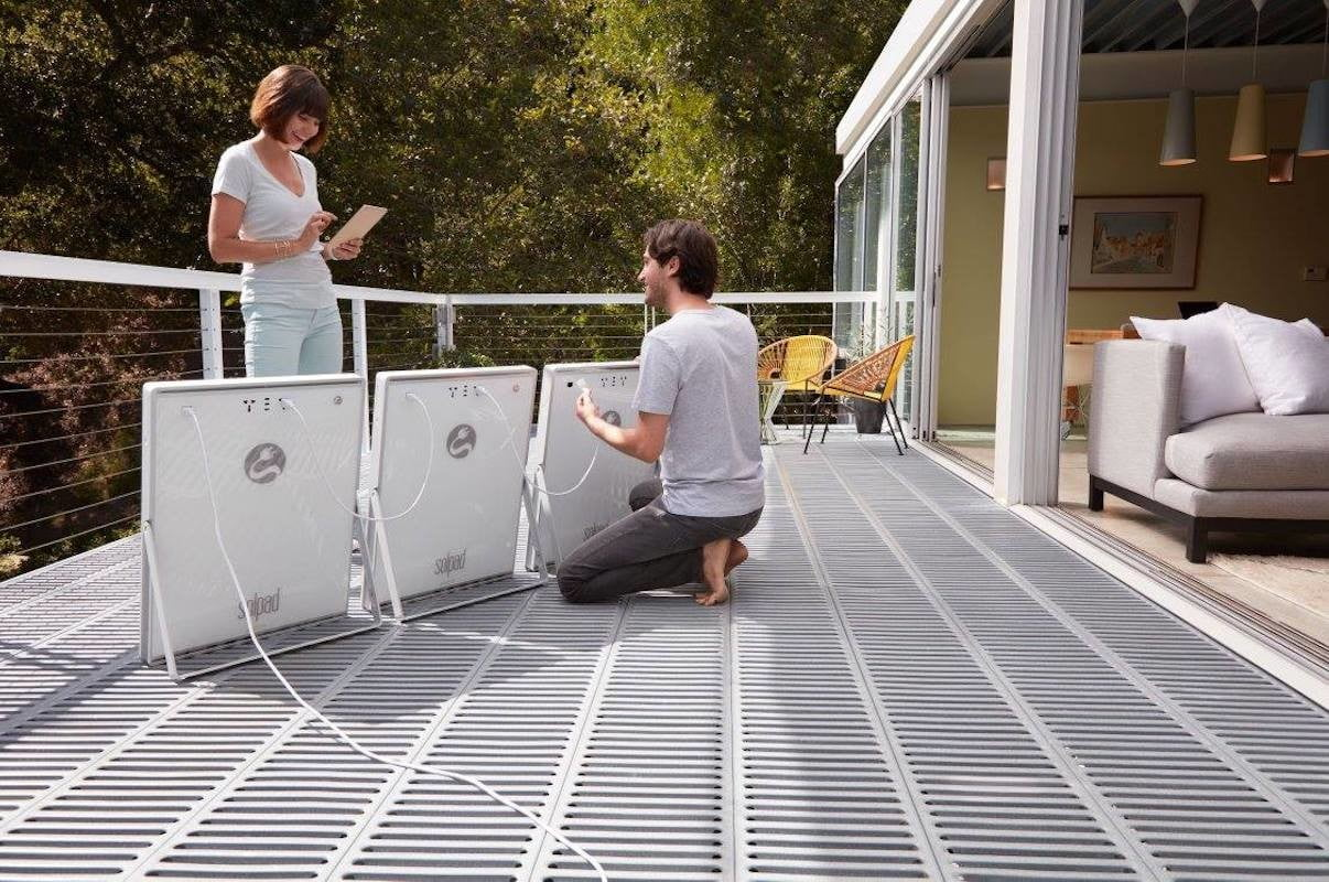 solpad mobile solar charger 2