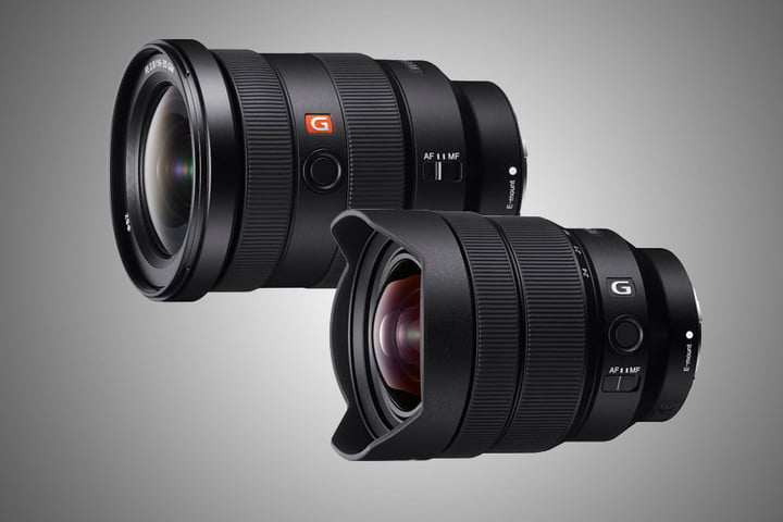 sony 16 35mm 12 24mm announced 35 gmaster 24