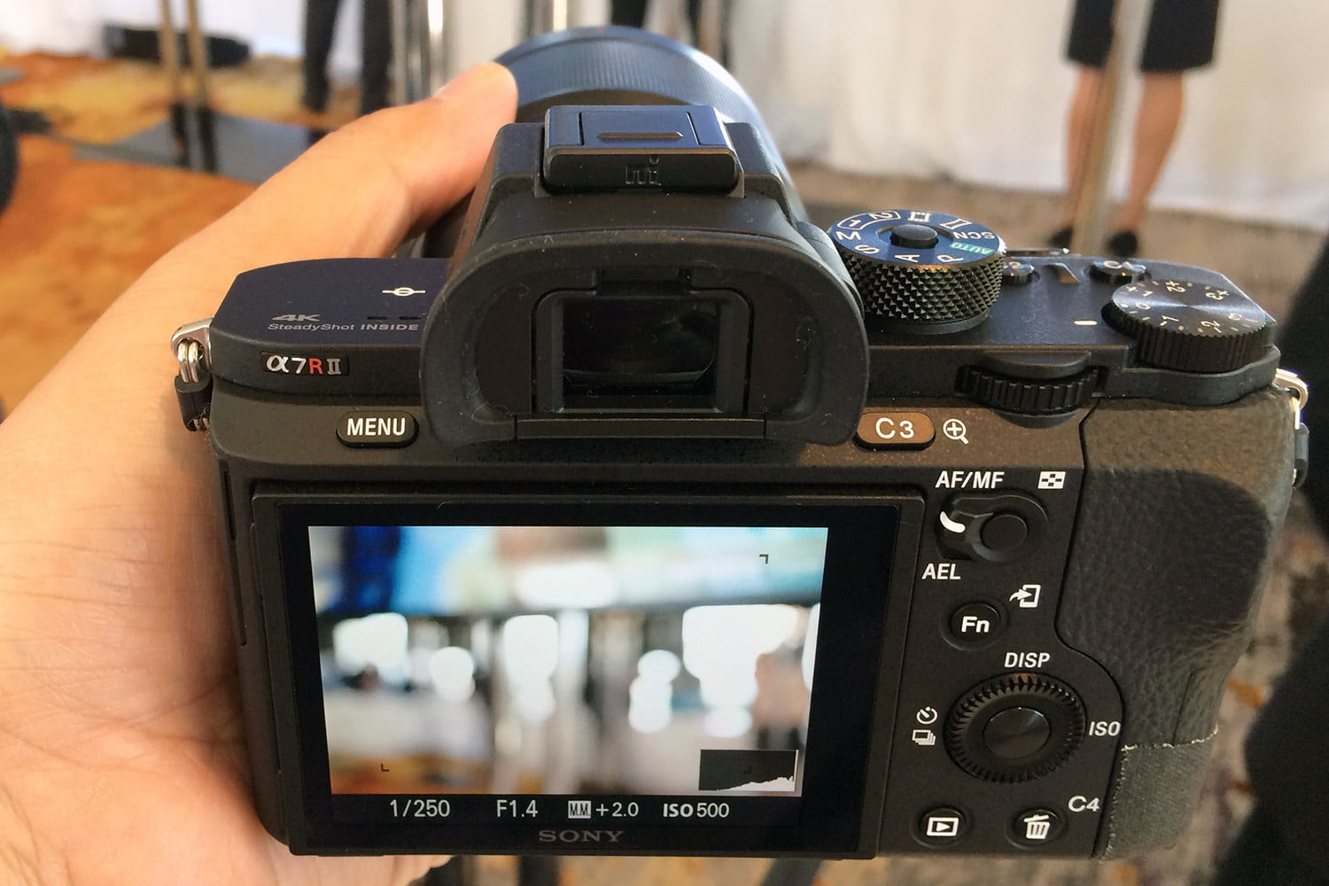 canon 5ds r vs sony a7r ii mark back