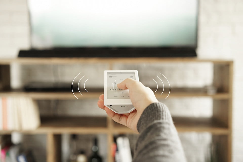 sony huis universal remote e ink 6