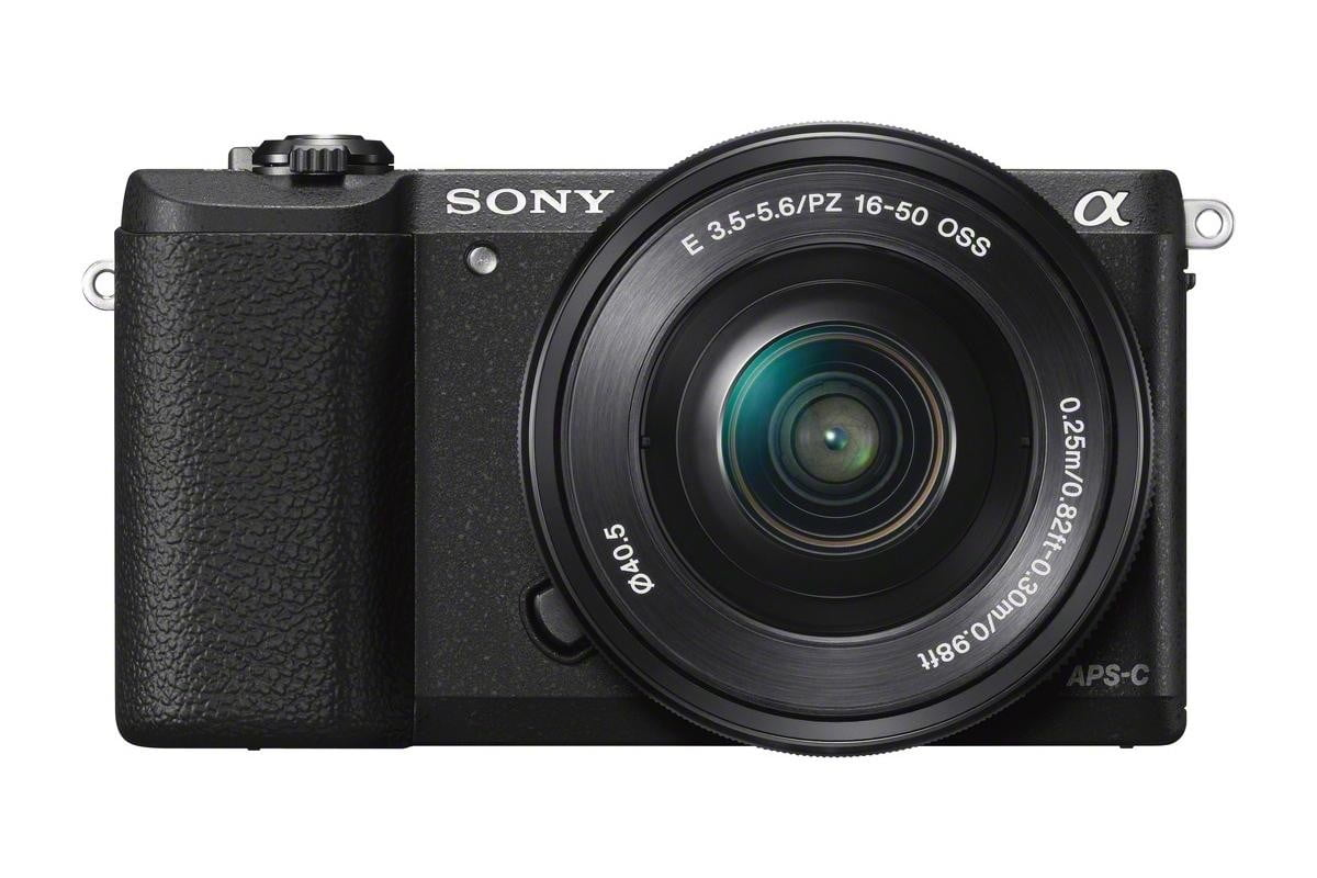 sony alpha 5100 ilce wselp1650 front black