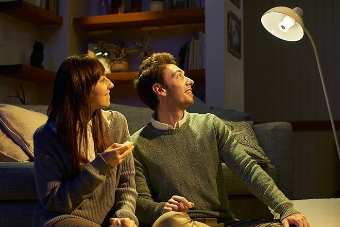 sony to debut led light bulb with bluetooth speaker