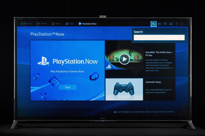 Sony XBR-65X950B review PlayStation Now