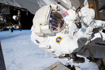 Watch this astronaut reveal everything about his spacesuit