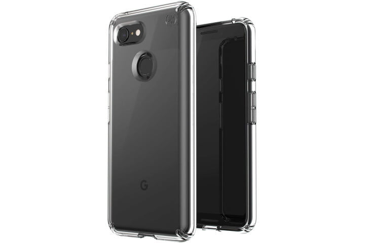 Speck Presidio Stay Clear case for the Google Pixel 3.