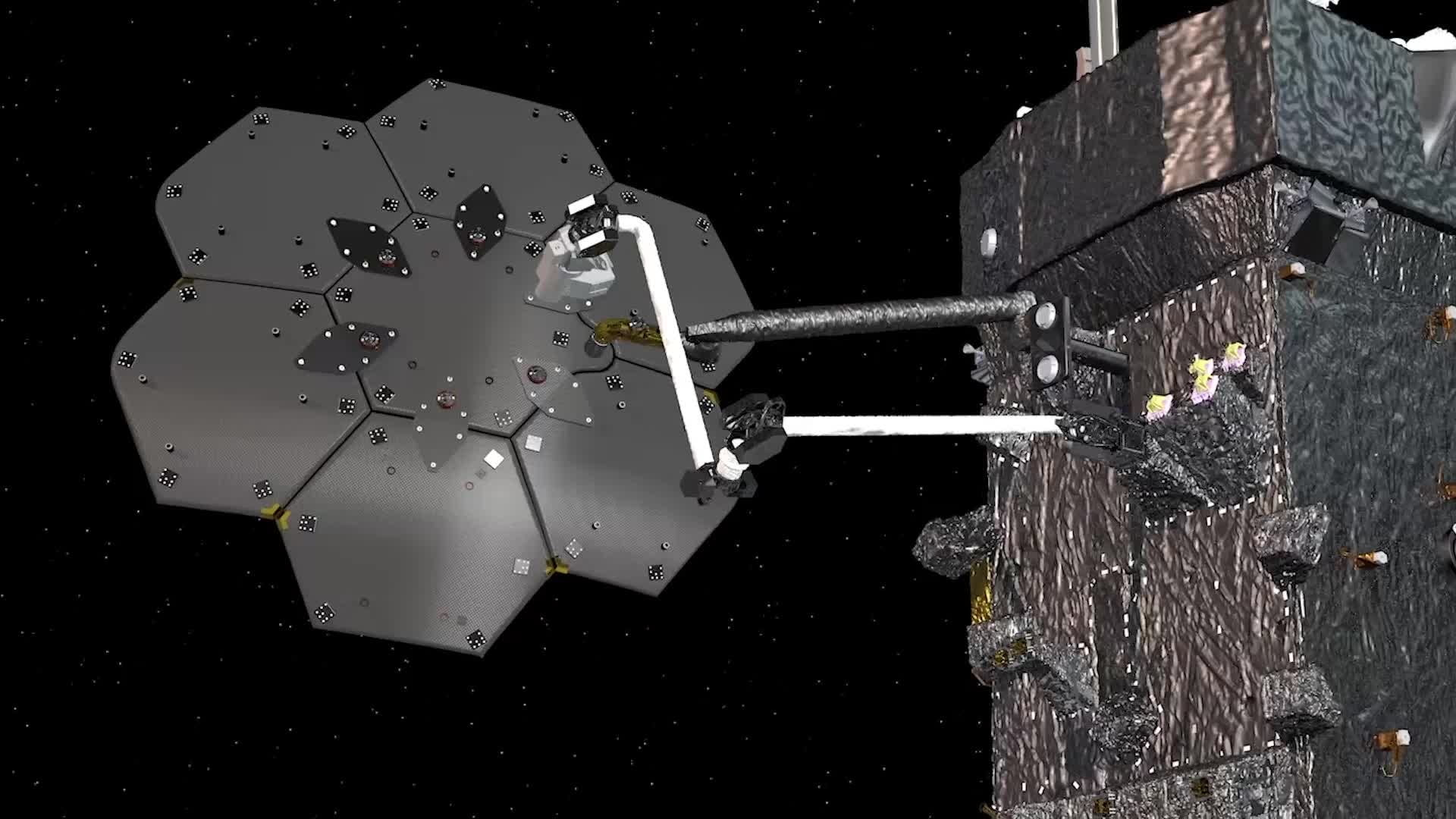 The Space Infrastructure Dexterous Robot (SPIDER) technology demonstration is slated to take place on NASA's Restore-L spacecraft. The payload will assemble a functional communications antenna and manufacture a spacecraft beam.