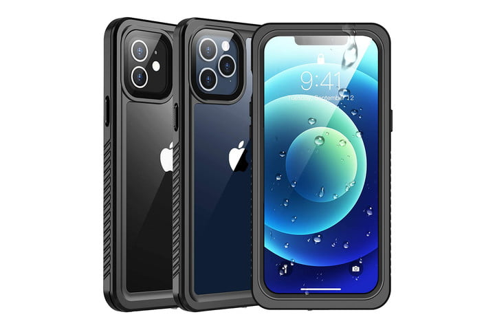 SPIDERCASE Waterproof Case for iPhone 12/12 Pro