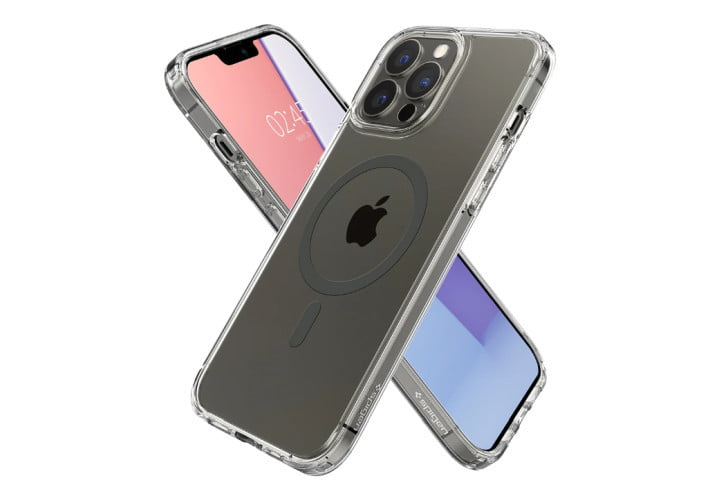 Spigen Ultra Hybrid Clear Case for iPhone 13 Pro Max.