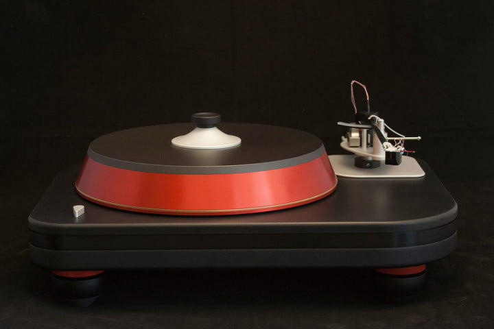 spiral groove revolution turntable now shipping