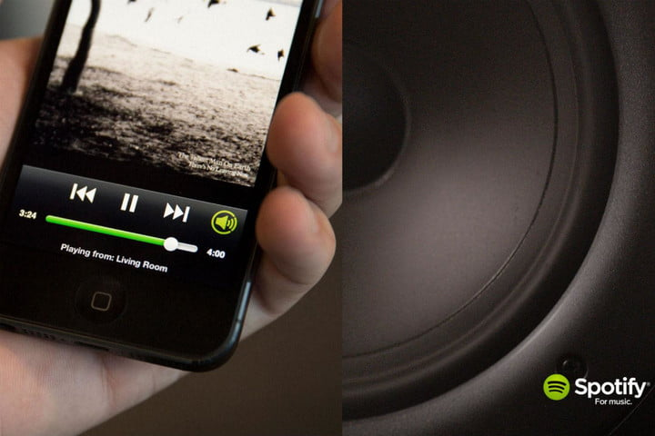 spotify free moble option connect iphone pic edit