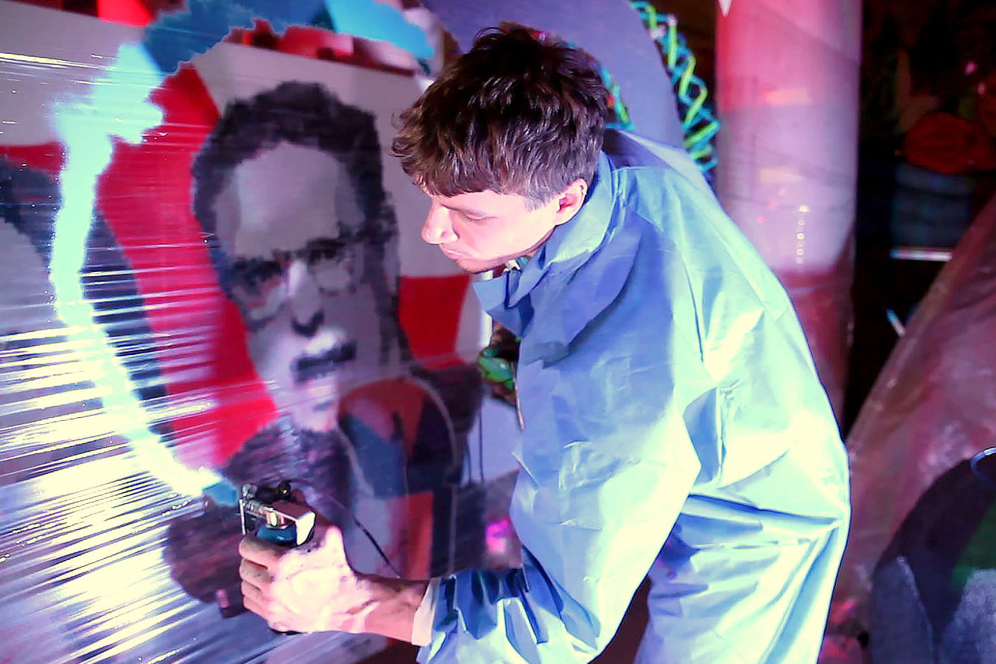 the sprayprinter makes graffiting your wall easy 1