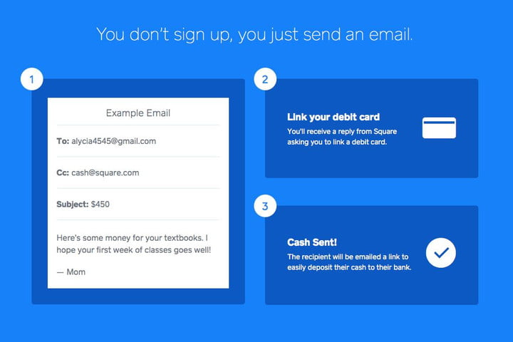 square cash lets you send money over email now open to us residents