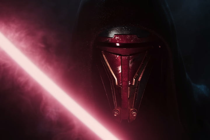 A Sith lord in the Star Wars: Knights of the Old Republic Remake trailer.
