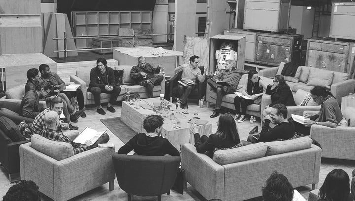 star wars episode vii finished filming 7 cast announce