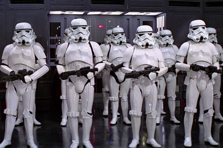 new images may show redesigned stormtroopers star wars episode vii