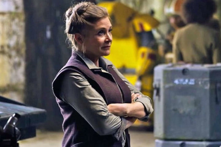 carrie fisher dead at 60 star wars the force awakens