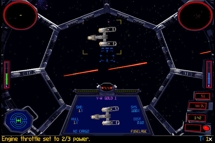star wars humble bundle features classic pc games tie fighter