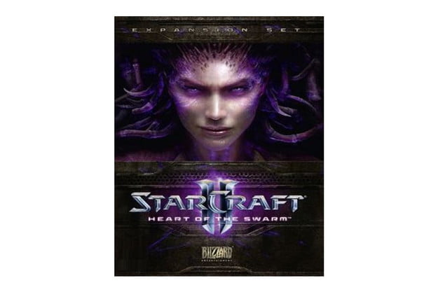 starcraft 2 heart of the swarm review cover art