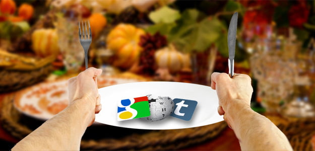 State of the web thanksgiving