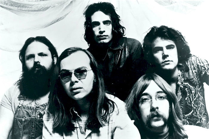 Walter Becker of Steely Dan, second from left, died at 67.