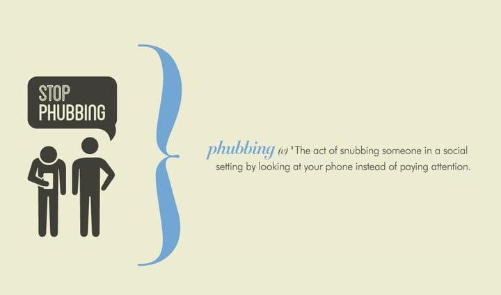 stop phubbing campaign launches in bid to end anti social handset use