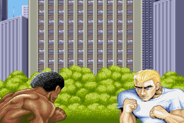 street fighter 2 characters mystery ii intro