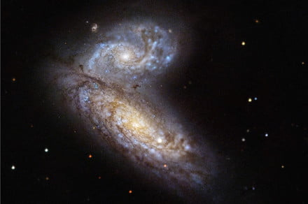 Hubble had a ringside seat to observe a star going supernova