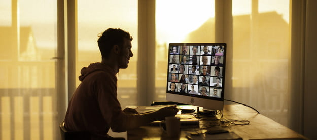 how to improve video call quality student on from his home during lockdown