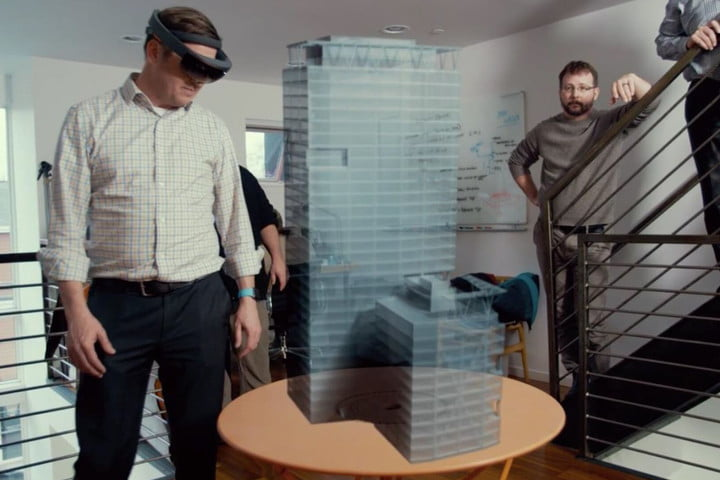 Studio 216 with HoloLens