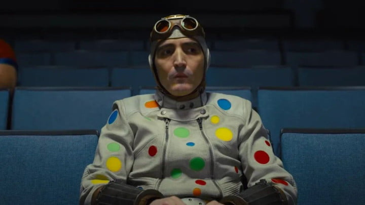 David Dastmalchian as The Polka-Dot Man in The Suicide Squad.