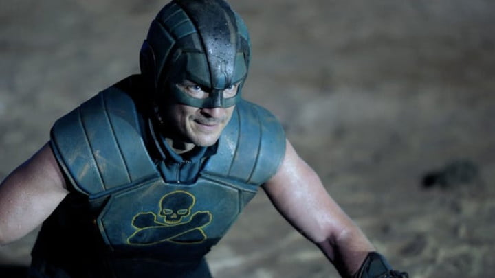 Nathan Fillion as T.D.K. in The Suicide Squad.